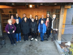 A gathering from many sanghas – back row: Tim Tapping, Sakya Monastery and Northwest Dharma Association Board; George Draffan, Natural Awareness and NWDA Board