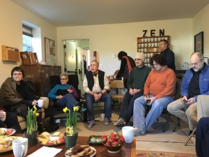 Members of seven sanghas met to discuss compassion