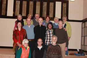 The Thursday Night Sangha, affiliated with Zen Buddhist teacher Thich Nhat Hahn, has now resided with Portland Friends of the Dhamma in three locations. The group was the first to sign on in the new building