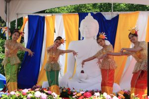 Dance performance by Buddhapanyanuntararama Buddhist Monastery