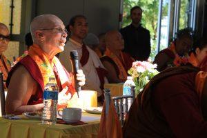 Thoughts shared by Ani Tsunma Puntsok Chodron, from Gawa Ling Buddhist Society (Vajrayana Tibetan)