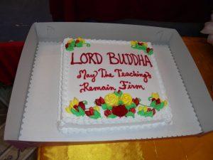 Buddha's birthday cake