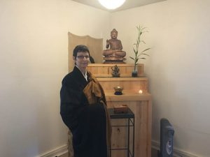 Priest Genmyo Zeedyk has served the Anchorage Zen community since 2012.