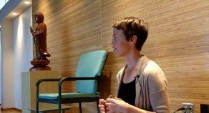 Keri Pederson teaching at Seattle Insight Meditation Society.