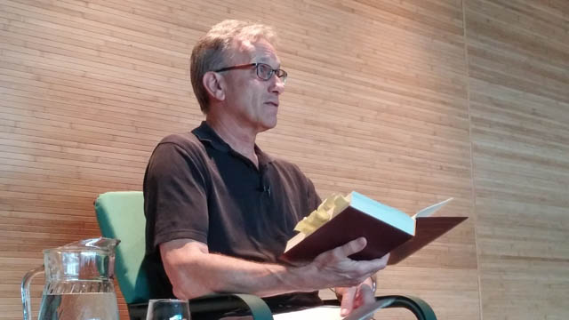 """Steve Armstrong, who led the """"Manual of Insight"""" translation team, in July presented on the book at Seattle Insight Meditation Society"""