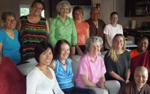 Women from many traditions gathered at the event, and supported one another.