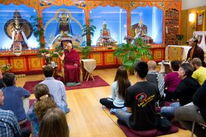 Venerable Chodron teaches at Maitripa College in Portland.