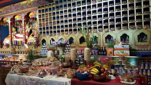 A monthly abundance offering, called a tsok in Tibetan tradition.