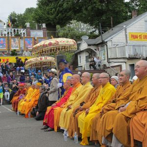 Co Lam Temple in Seattle supported a wider Vesakha celebration in 2014, tied to consecration of a statue of Buddha as a boy.
