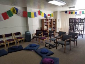 The Sangha has a diverse set of books, videos, and audios for checkout, as well as a number of free books.