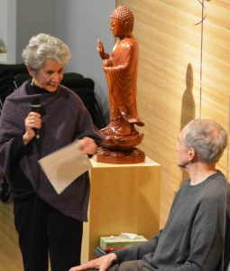 Rosie Schwartz, one of the SIMS founding members, described the early days of SIMS as a sangha.