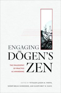 """Engaging Dōgen's Zen"" was published by Wisdom Publications."