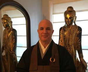Shudo Brian Schroeder is a Zen priest, and also director of religious studies at the Rochester Institute of Technology