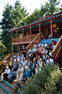 Group photo from the White Tara retreat program in July 2017.