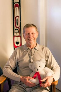Don Tarbutton, co-founder of PDX Death Café and a retired Buddhist hospice chaplain.