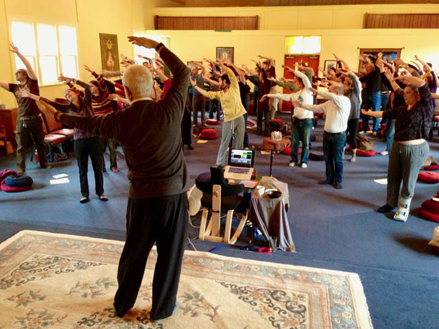 The fast-growing Portland Insight Community is known for creative approaches to the Dharma, such as incorporating Chi Gung movement.