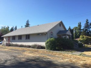 The group meets at the Port Townsend Friends Meeting house, operated by a Quaker fellowship.