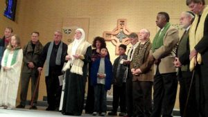 Warm For Winter: Interfaith Blessing of Scarves, St Patrick Church, 2011.