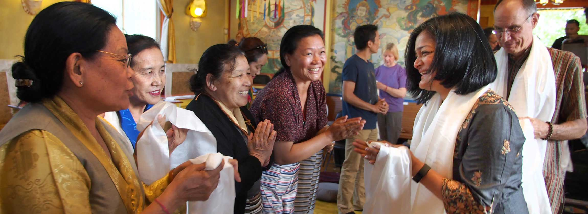 Washington state Congresswoman Pramila Jayapal met with members of the Tibetan community at Sakya Monastery in Seattle June 5, to hear about Tibetan issues and to share views about immigration. Click on photo to go to story >>