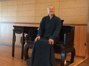 Master Huei Guang, at the International Bodhisattva Sangha Monastery in Taiwan.