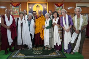 The Tibetan Nuns Project board and staff, many of them from Western Washington and British Columbia, traveled to India for the ceremonies.