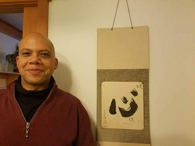 Jaye Seiho Morris, a Seattle Zen priest, taps his experience in his teachings.
