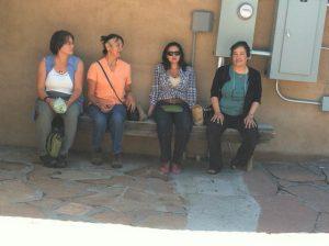 Caerdwin Torres, Fransing Daisy, Ursula Tsosie and Bonnie Duran