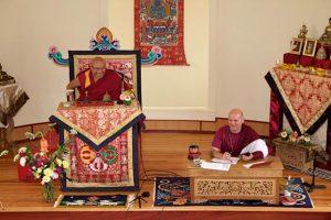 Khenpo Rinpoche and Lama Eric