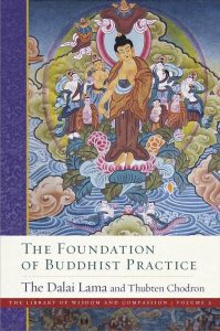"Volume two of the Library of Wisdom and Compassion series, ""The Foundation of Buddhist Practice,"" was recently released"