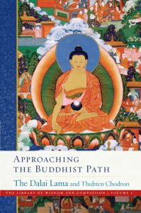 "The first volume of the Library of Wisdom and Compassion series, ""Approaching the Buddhist Path"