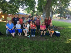 In 2017 sangha members gathered for the 10th anniversary celebration and picnic at Menlo Park in Walla Walla