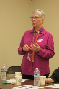 Carla Prater, assistant director of Buddhist Global Relief.