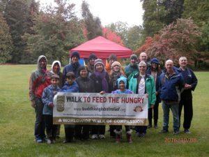 Starting the Seattle walk, in Volunteer Park.