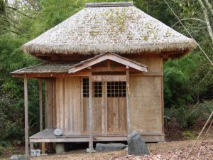 An Olympia Zen Center replica of Gogo-an, Ryokan's hut where he lived for many years.