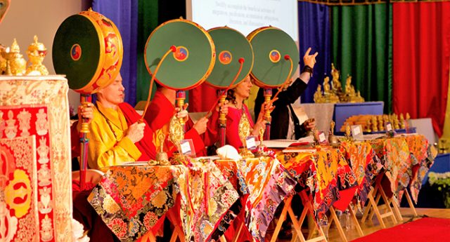 Tibetan practitioners from around the world journeyed to Portland to accomplish a spectacular and powerful Drubchen, one of the Nyingma tradition's most ancient practices