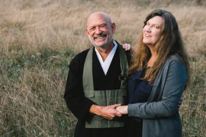 Peter Levitt and his wife, poet Shirley Graham