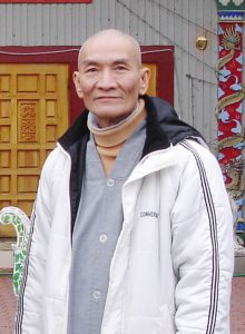 Thầy Kim visited many temples to teach the dhamma