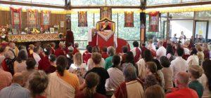HH Dudjom Rinpoche conferring Varayana empowerment ceremony at Saraha Nyingma Buddhist Institute