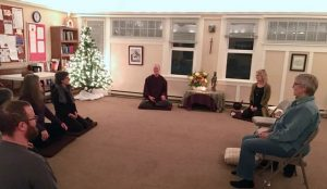 Jonathan Prescott offers a dharma talk on preparing the mind and body for meditation.