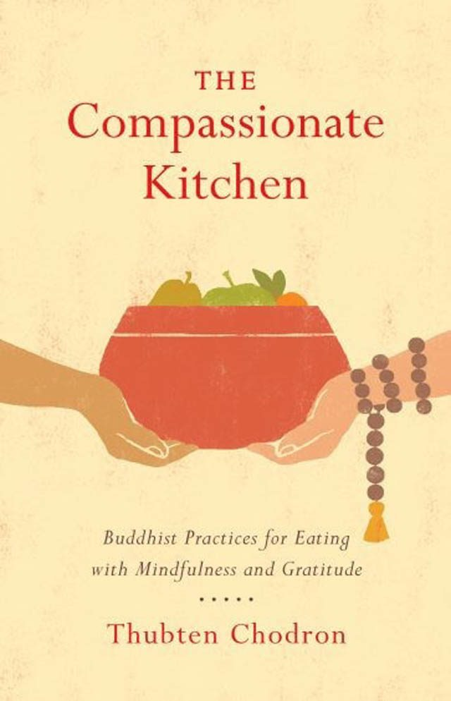 "Cover for ""The Compassionate Kitchen,"" by Shambhala Publications"