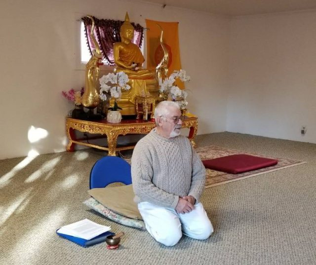 Ben Heffer teaching at International Insight Meditation Center, Redmond, Oregon