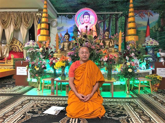 Venerable Soveth Moun, a monk for 25 years, will disrobe and join the temple's board of directors