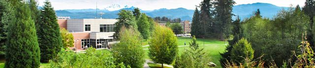 University of Fraser Valley campus in Abbotsford, B.C