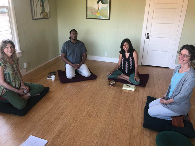Seattle Mindfulness Center therapists Teresa Williams, John Guy, Neha Chawla and Mary Roy, have advice to offer on taking in the news.