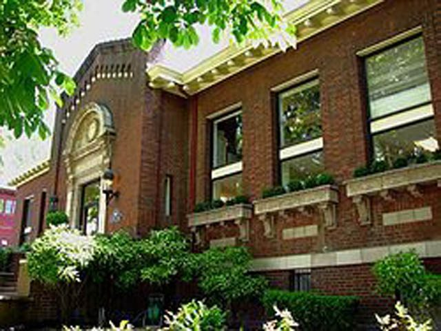 The historic Carnegie Library building, where the Portland Shambhala Center has been for 20 years located in inner southeast Portland