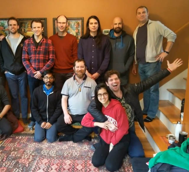 Members of Seattle SPUDS at their 2019 retreat