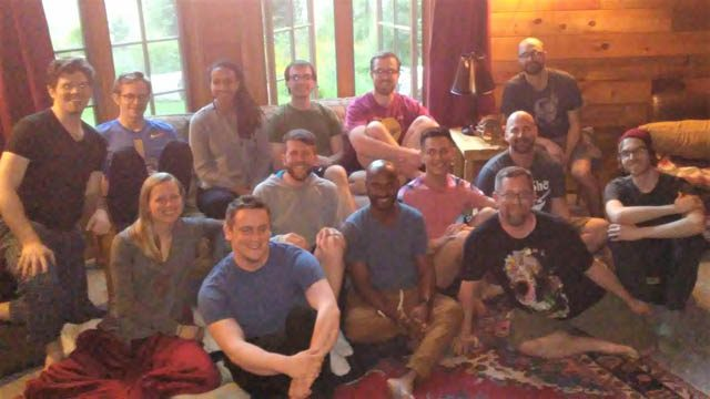 Seattle SPUDS at their 2018 retreat