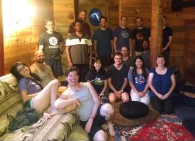 Seattle SPUDS on retreat in 2018