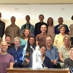 People attending the 2017 Awakening to Whiteness class, held at the Heart of Wisdom Zen Temple in Portland