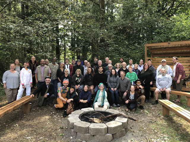 NW Dharma co-sponsored the second annual Buddhist recovery summit, near Tacoma in September, 2019